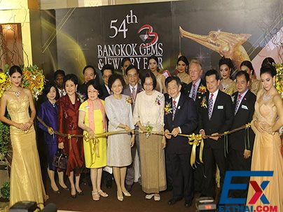The 54th Bangkok GEMS&JEWELRY FAIR OPENED