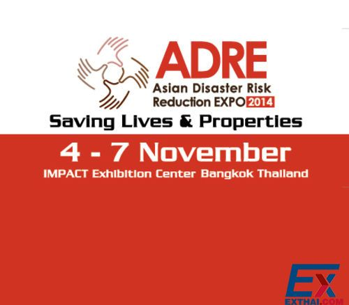 Asian Disaster Risk Reduction Expo (ADRE2014)