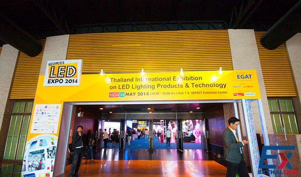 งาน LED Expo Thailand 2014