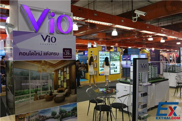 VIO Khaerai shows at 2014 House and Condo Show, start from 1.29 M